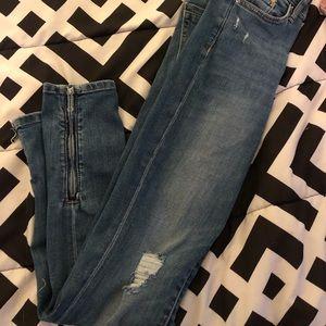 SIZE-24 H&M Blue Jeans